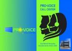 Centre d'appel Pro-Voice Recrute des Téléoperateurs (trices) – Avril 2015